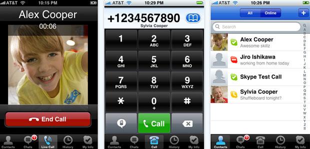 Skype 2.0 para iPhone y iPod touch con llamadas gratis por 3G 10