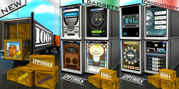 AppTools 100 en 1 son 100 aplicaciones para el iPhone al precio de 1 2