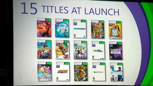 Kinect disponible en Noviembre 1