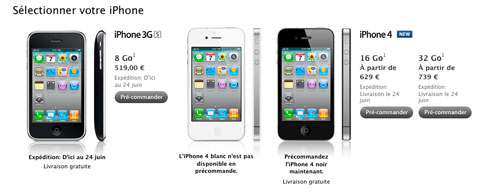 Comparativa entre el iPhone de Verizon y el iPhone 4 con AT&T 3