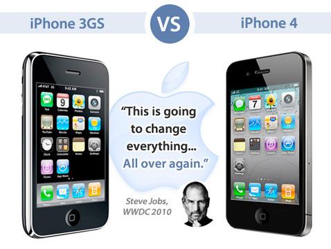 iPhone 4 vs iPhone 3GS 2