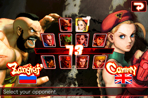Cammy y Zangief llegan a Street Fighter para iPhone/iPod Touch 2