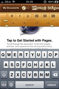 Keynote, Numbers y Pages para iOS 8 1