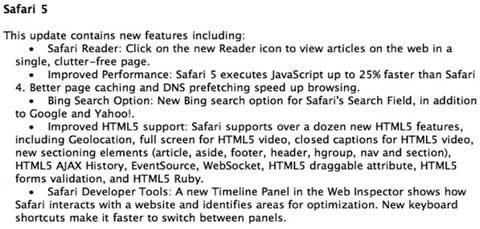La WWDC podría traernos Safari 5 y Snow Leopard 10.6.4 2