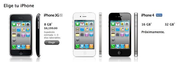 Apple ya vende el iPhone 3Gs libre en México, el iPhone 4 proximamente 1