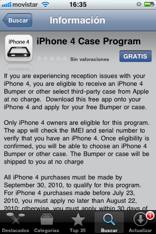 iPhone 4 Case Program, solicita tu bumper a Apple 1