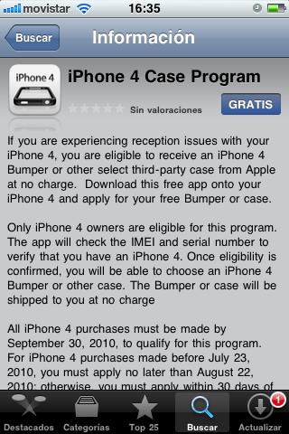 Fallan de nuevo las alarmas del iPhone 4 7