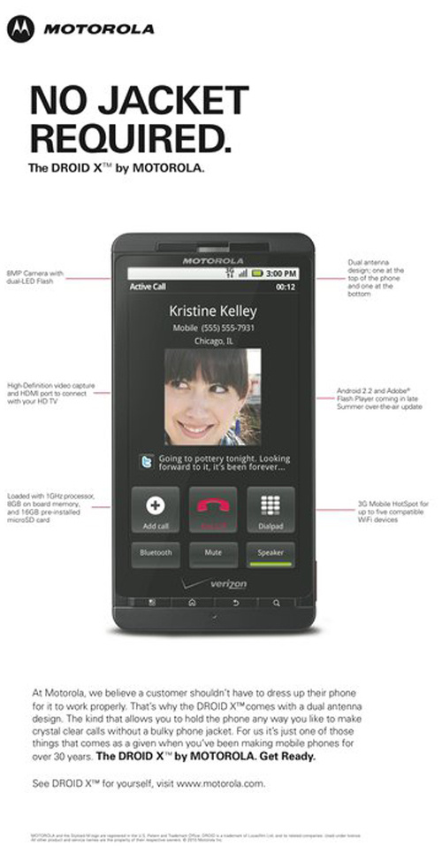 Motorola se burla del iPad 2