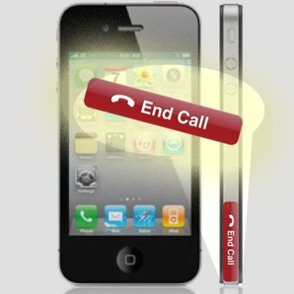 Un stiker es la solución a los problemas del iPhone 4 1