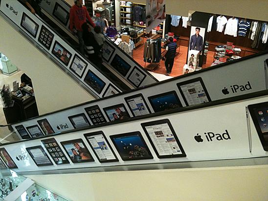La publicidad del iPad en México 1