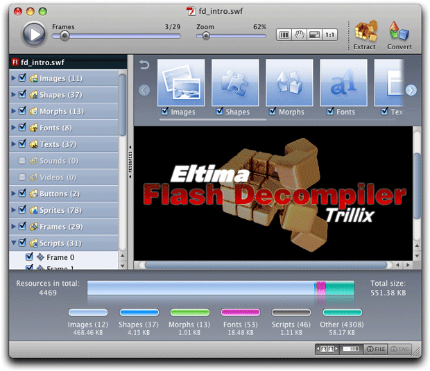 Flash Decompiler Trillix para Mac 3