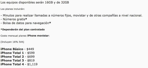 Apple ya vende el iPhone 3Gs libre en México, el iPhone 4 proximamente 4