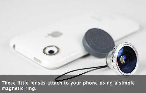 Photojojo! lanza un par de lentes extras para tu iPhone 2