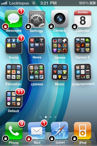 Locktopus, protección para tus apps, a través de una contraseña 2