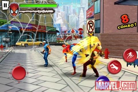 Gameloft anuncia un nuevo juego: Spider-Man: Total Mayhem 4