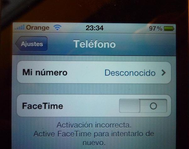 FaceTime en España, causa problemas 1