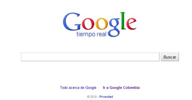 Google lanza búsquedas en tiempo real 1