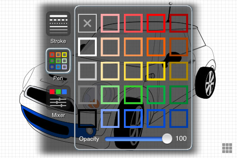 iDesign, herramienta de diseño vectorial para dispositivos Apple 3