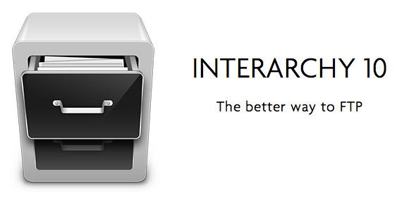 Cliente FTP para Mac OS X Interarchy versión 10 2