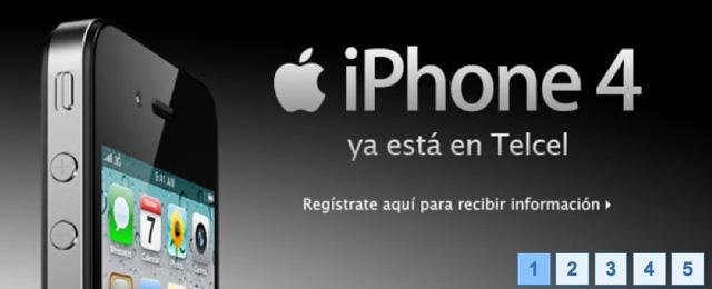 El iPhone 4 ya esta con Telcel 2