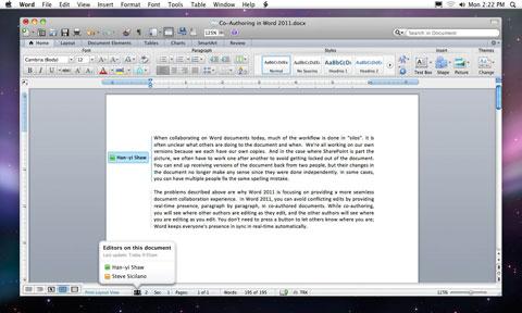 Office para Mac 2011 y algunas revelaciones 5