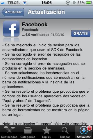 Facebook lanzará su tienda de aplicaciones 5