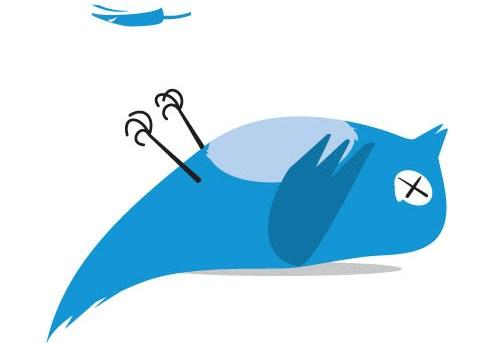 Twitter borra tweets, por infracción de copyright 2