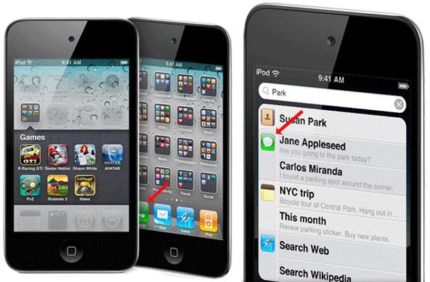 Las imágenes de la web del iPod Touch, presentan un grave error 1