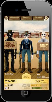 Duelos al estilo del lejano oeste, pero con tu iPhone 3