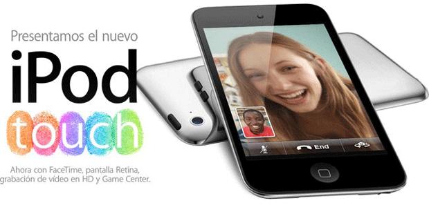 Nuevo iPod Touch, con FaceTime, Grabación HD, y Retina Display 1