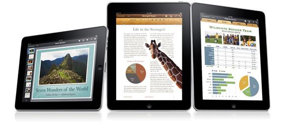 iWork se actualiza a la versión 1.2 en el iPad 2