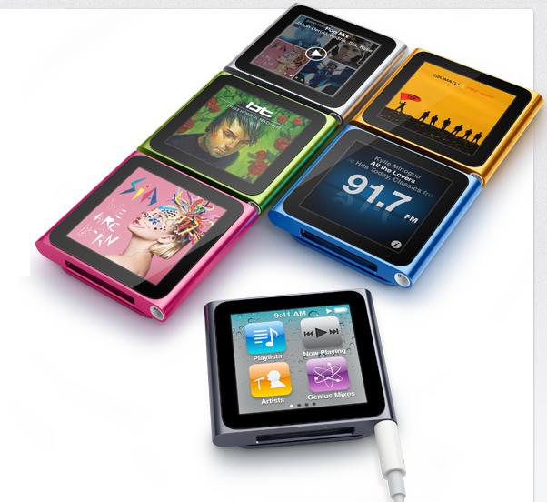 Apple presenta en su evento especial el nuevo iPod nano 7