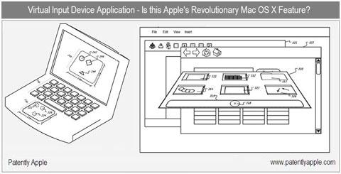 Nueva patente para Mac OS X, interface 3D 8