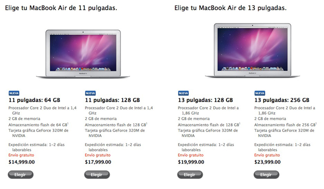 Apple presenta la nueva Macbook Air 3