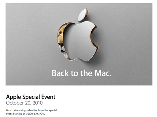Sigue la Keynote de hoy en vivo : Back to the Mac 1