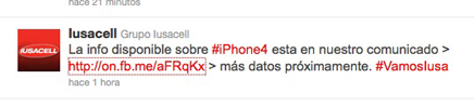 Iusacell anuncia: también tendrán el iPhone 4 1