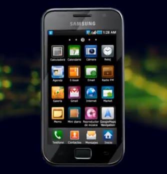 Samsung presenta: Galaxy S WiFi 4.0 Smart Player 6