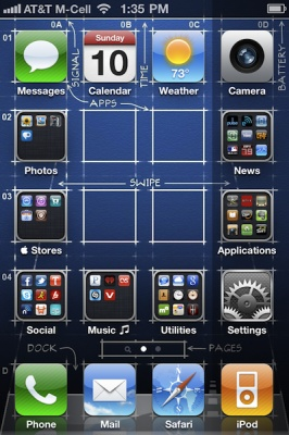 Organiza tus iconos en tu iPhone con Gridlock 2