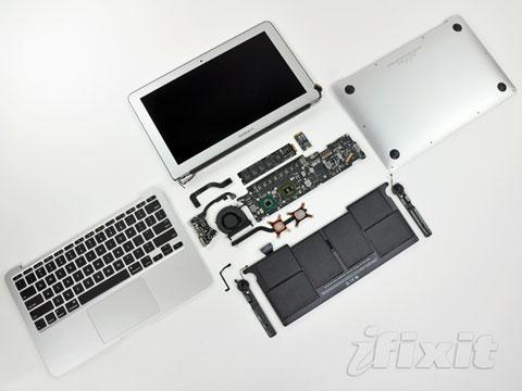 Macbook Air y Mac mini con procesadores Sandy Bridge y puerto Thunderbolt 7