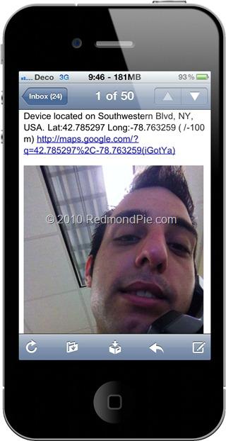 iGotYa te permite saber quién usa tu iPhone 4 mientras no lo tienes cerca 2