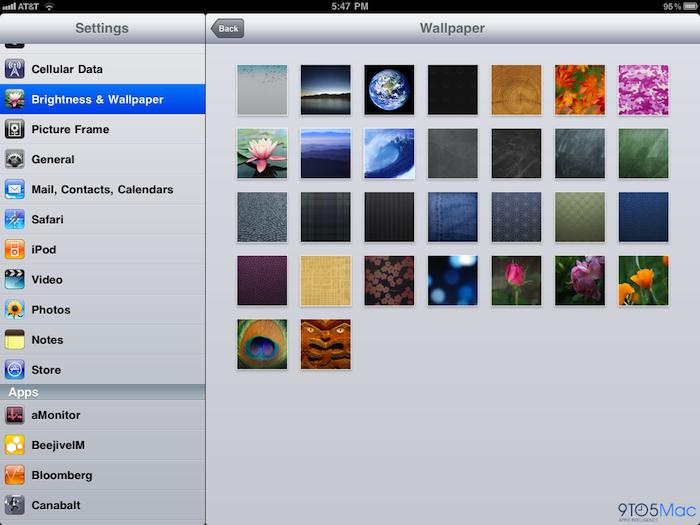 Nuevos wallpapers para tu iPad en iOS 4.2 2