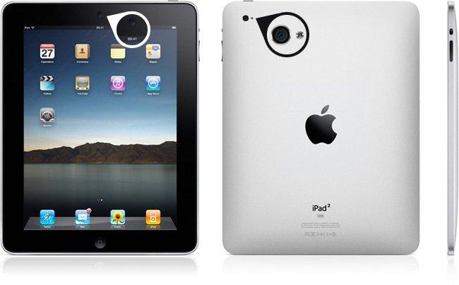 El próximo iPad podría tener dos cámaras 1