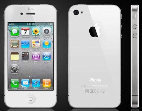 El iPhone 4 blanco, retrasado para la primavera de 2011 2