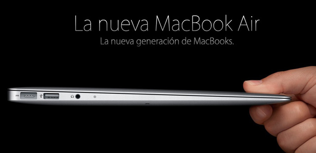 Apple presenta la nueva Macbook Air 2