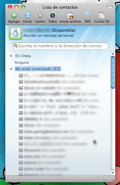 Microsoft lanza Microsoft Messenger 8 para Mac 1
