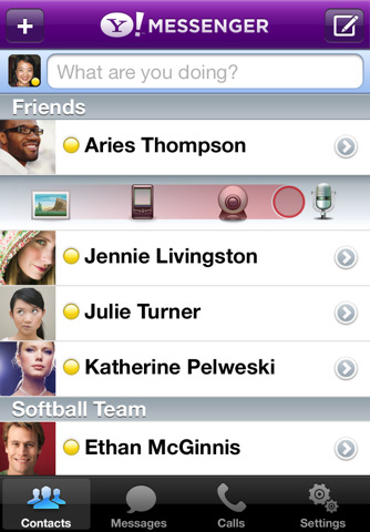 Yahoo! Messenger, ahora con videochat en iPod Touch 4G 1