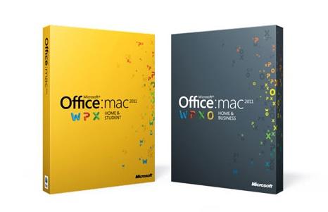 Office Mac 2011 de Microsoft, cajas y vídeo de presentación 6