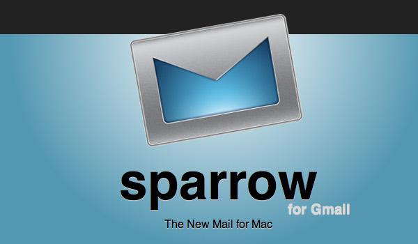 Sparrow: Nuevo cliente de correo para Mac. 2