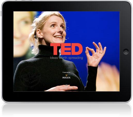 Conferencias TED para el iPad en aplicación oficial 1
