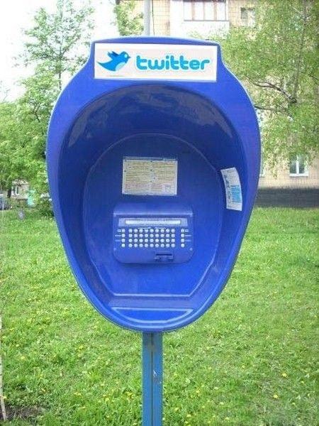 ¿ Cabinas publicas para Twittear ? 2